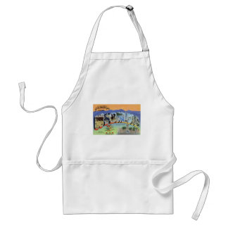 Greetings From Wyoming Standard Apron