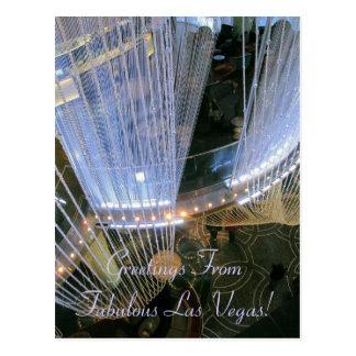 Greetings FromFabulous Las Vegas! Postcard