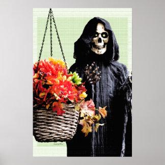 Greetings Ghoul Friends Poster