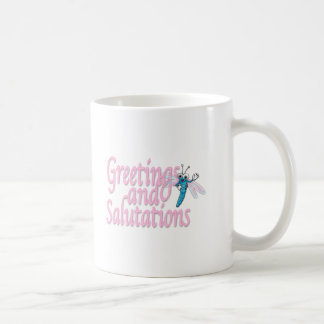 Greetings Coffee Mugs