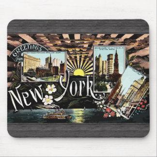 Greetings New York, Vintage Mousepad