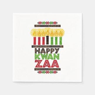 Greetings Of Kwanzaa Kwanzaa Party Paper Napkins