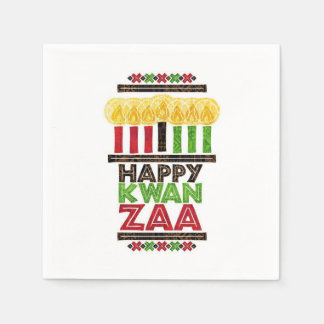 Greetings Of Kwanzaa Kwanzaa Party Paper Napkins Disposable Napkin