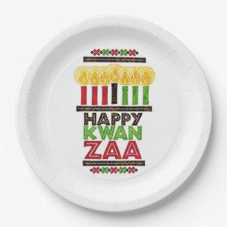 Greetings Of Kwanzaa Kwanzaa Party Paper Plates