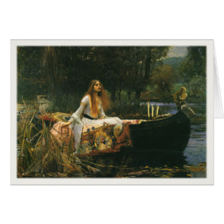 Greetings with John William Waterhouse Painting Card