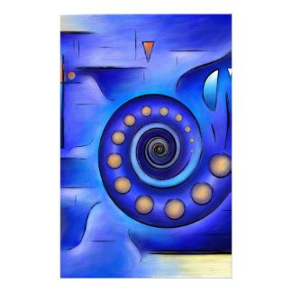 Grefenissa V1 - space art Stationery Design