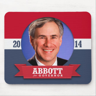 GREG ABBOTT CAMPAIGN MOUSE PAD