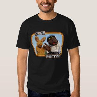 """Greg and Warren - """"Sleazy Rider"""" - dark apparel T-shirts"""