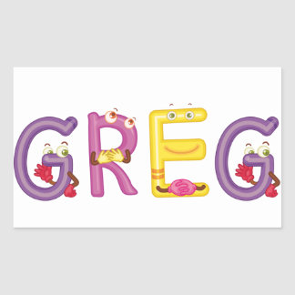 Greg Sticker