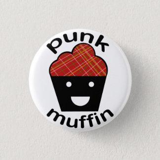 Greg the Punk Muffin 3 Cm Round Badge