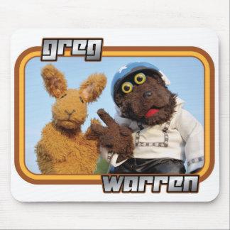 "Greg & Warren - ""Sleazy Rider"" - light apparel Mouse Pad"