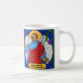 Gregor Mendel - stained glass Coffee Mug