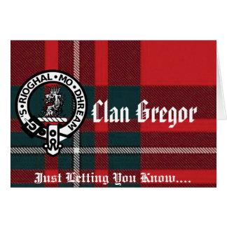 Gregor Note Cards and Envelopes!