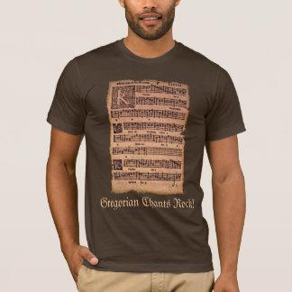 Gregorian Chants Sheet Music History-lovers Shirt