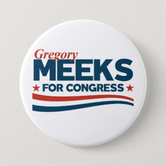 Gregory Meeks 7.5 Cm Round Badge