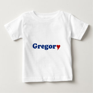 Gregory with Heart Tee Shirts