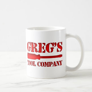 Greg's Tool Company Coffee Mug