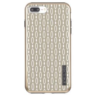 Greige - Grey and Beige Decor Incipio DualPro Shine iPhone 8 Plus/7 Plus Case