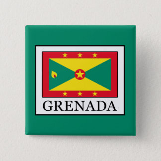 Grenada 15 Cm Square Badge