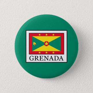 Grenada 6 Cm Round Badge