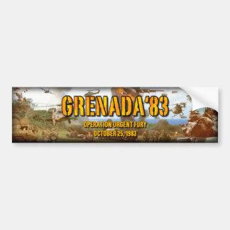 Grenada '83 OUF bumper sticker