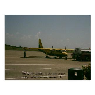 Grenada Airport Postcard