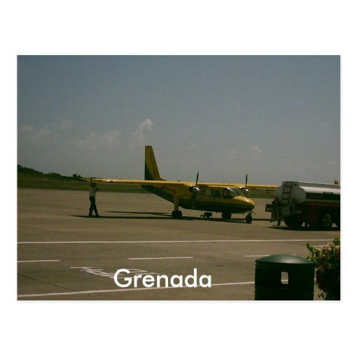 Grenada Airport Post Cards