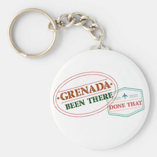 Grenada Been There Done That Key Ring