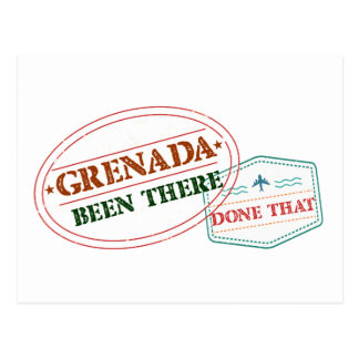Grenada Been There Done That Postcard