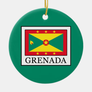 Grenada Ceramic Ornament