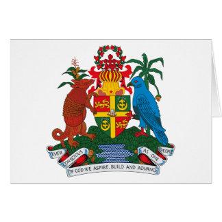Grenada Coat of Arms Greeting Card