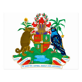 Grenada Coat of Arms Postcard