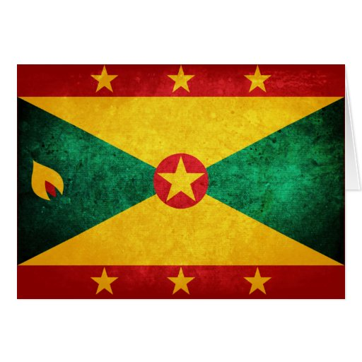 Grenada Flag Card