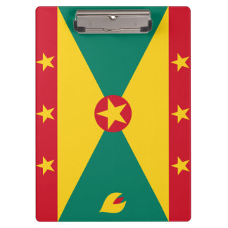 Grenada Flag Clipboard