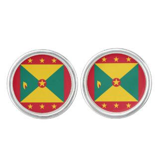 Grenada Flag Cufflinks