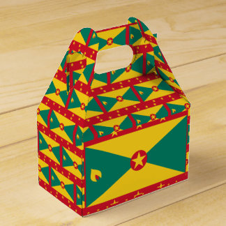 Grenada Flag Favour Box