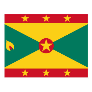 Grenada Flag GD Postcard
