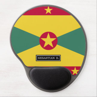 Grenada Flag Gel Mouse Pad