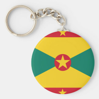 Grenada Flag Key Ring