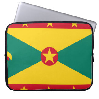 Grenada Flag Laptop Sleeve