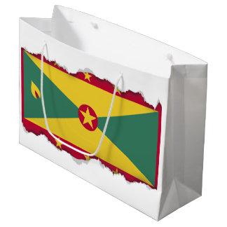 Grenada Flag Large Gift Bag