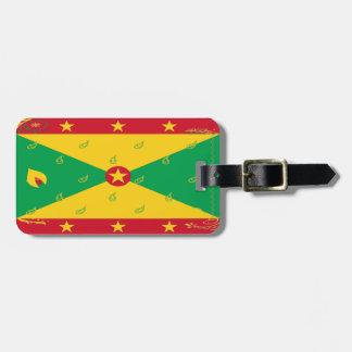 Grenada Flag Luggage Tag