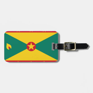 Grenada Flag Luggage Tag