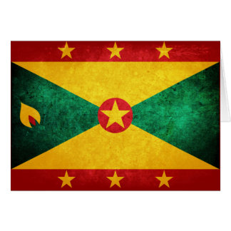 Grenada Flag Note Card