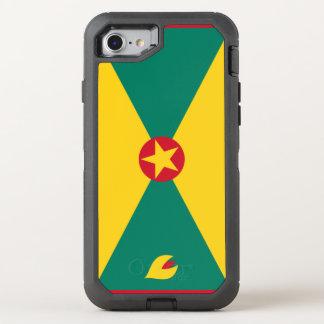Grenada Flag OtterBox Defender iPhone 8/7 Case