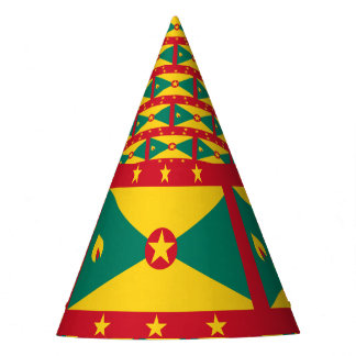 Grenada Flag Party Hat