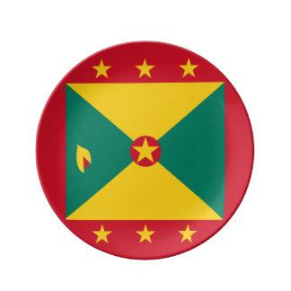 Grenada Flag Plate
