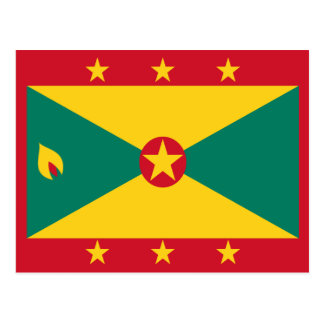 Grenada Flag Postcard