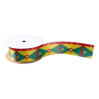 Grenada Flag Satin Ribbon