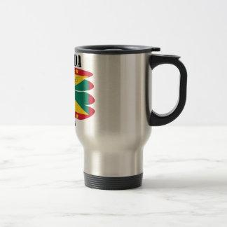Grenada Flag Travel Mug